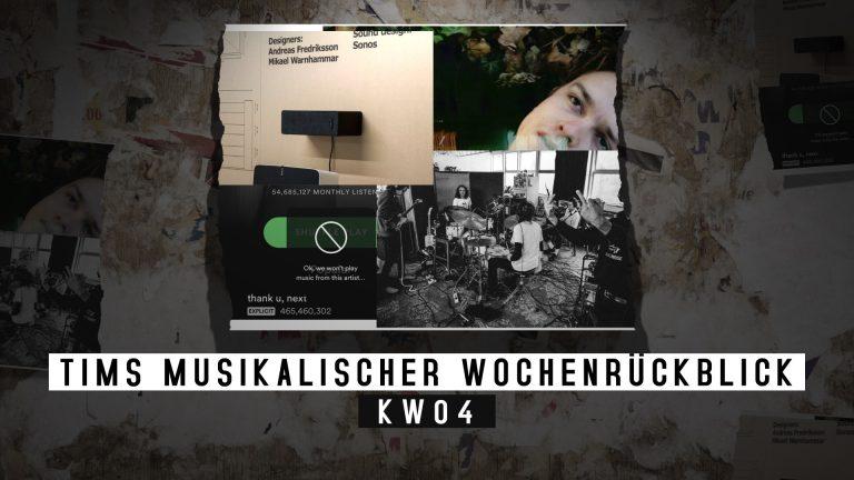 Die KW04 mit Blick auf die Musik – Tims musikalischer Wochenrückblick