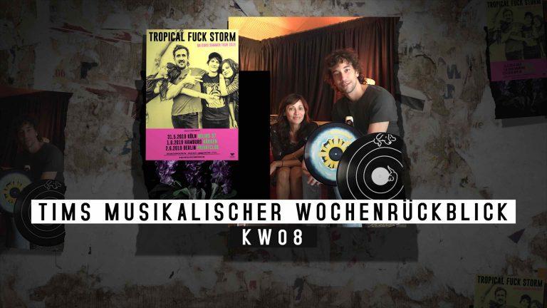 Die KW08 mit Blick auf die Musik – Tims musikalischer Wochenrückblick