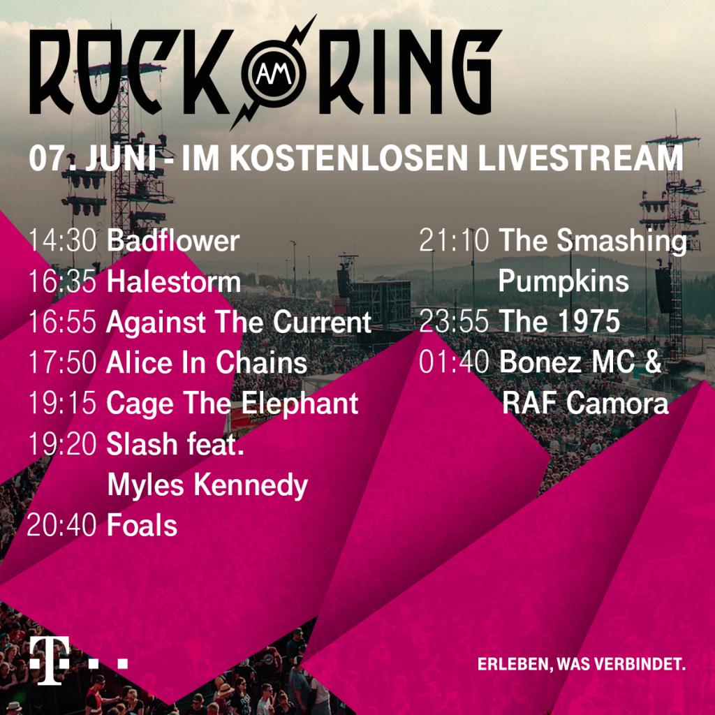 Rock Am Ring 2019 Livestream Update Testspielde