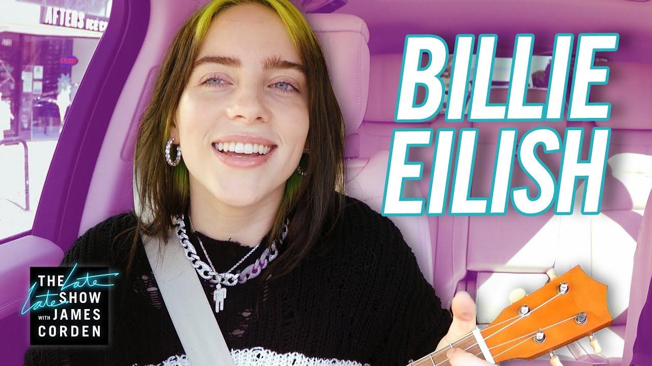 billie eilish carpool